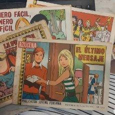 Tebeos: LOTE CUATRO REVISTAS FEMENINAS AZUCENA 1152 870 1215 1177. Lote 269801138