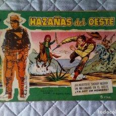 Tebeos: HAZAÑAS DEL OESTE Nº 35 TORAY MUY DIFÍCIL. Lote 270155358