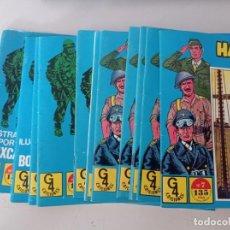 Tebeos: HAZAÑAS BELICAS AZULES LOTE DE 12 TEBEOS G-4 EDICIONES VENDO LOS QUE INDICO MAS ABAJO. REF. UR. Lote 270880433