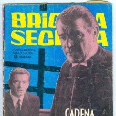 Tebeos: TORAY. BRIGADA SECRETA. 1962. 40.. Lote 271195743
