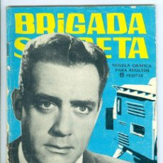 Tebeos: TORAY. BRIGADA SECRETA. 1962. 67.. Lote 271195753