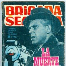 Tebeos: TORAY. BRIGADA SECRETA. 1962. 111.. Lote 271195773