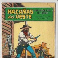 Tebeos: TORAY. HAZA�AS DEL OESTE. 220.. Lote 271221573