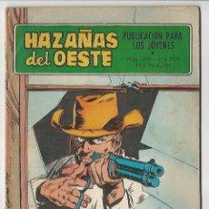 Tebeos: TORAY. HAZA�AS DEL OESTE. 219.. Lote 271211248