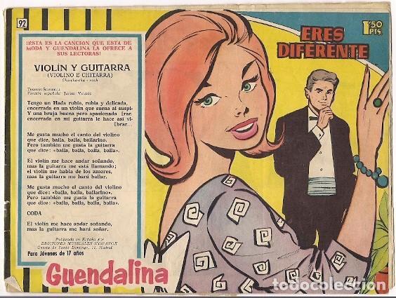 TORAY. GUENDALINA. 92. (Tebeos y Comics - Toray - Guendalina)