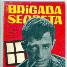 Tebeos: TORAY. BRIGADA SECRETA. 1962. 125.. Lote 271277333