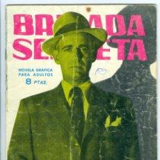 Tebeos: TORAY. BRIGADA SECRETA. 1962. 49.. Lote 271287258