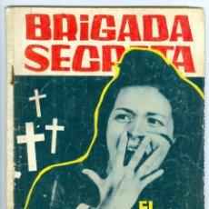 Tebeos: TORAY. BRIGADA SECRETA. 1962. 96.. Lote 271287288