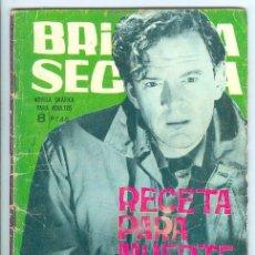 Tebeos: TORAY. BRIGADA SECRETA. 1962. 86.. Lote 271304403