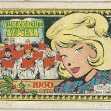 Tebeos: TORAY. AZUCENA. ALMANAQUE. 1960.. Lote 271324293