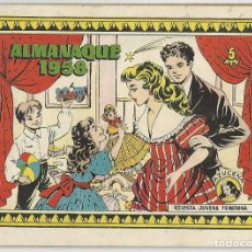 Tebeos: TORAY. AZUCENA. ALMANAQUE. 1958.. Lote 271341633
