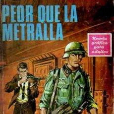 Tebeos: BOIXCAR-OBRAS COMPLETAS-HAZAÑAS BÉLICAS- Nº 54 -PEOR QUE LA METRALLA-1967-CASI BUENO-DIFÍCIL-5047. Lote 271408493