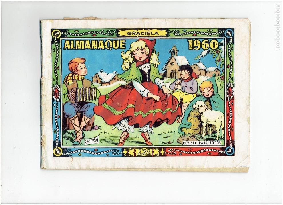ARCHIVO * GRACIELA * ED. TORAY * ALMANAQUE 1960 * (Tebeos y Comics - Toray - Graciela)