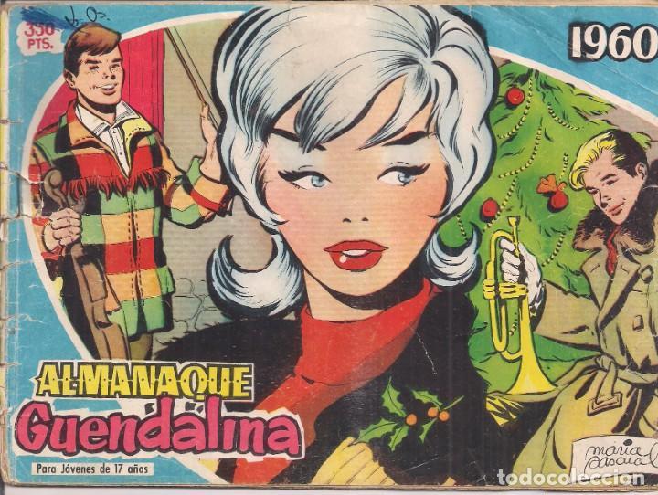 GUENDALINA ALMANAQUE 1960 (Tebeos y Comics - Toray - Guendalina)
