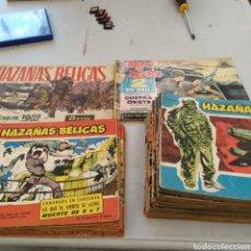 Tebeos: LOTE DE COMICS HAZAÑAS BELICAS. Lote 272357823