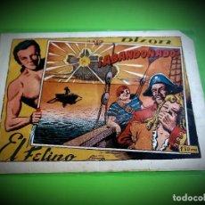 Tebeos: DIXON EL FELINO Nº 2 TORAY ORIGINAL -MUY DIFICIL -1ª VEZ EN T.COLECCION. Lote 273100198