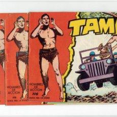 Tebeos: ARCHIVO * TAMAR * Nº 19, 46, 116, 119, 150, 180 * EDITORIAL TORAY 1961 * DIBUJO ANTONIO BORRELL *. Lote 267590779