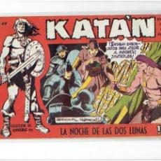 Tebeos: ARCHIVO * KATÁN * LA NOCHE DE LAS DOS LUNAS, Nº 30 * EDICIONES TORAY 1960 * ORIGINAL *. Lote 273342073