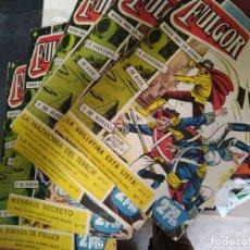"Giornalini: LOTE DE COMICS ""EL FULGOR"" NÚMS. 10, 11, 14, 17 Y 18. Lote 275024153"