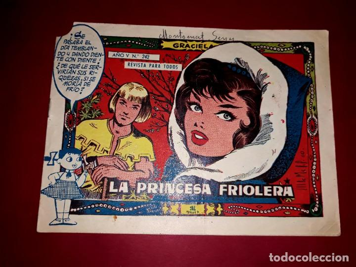 COLECCIÓN GRACIELA Nº 242 (Tebeos y Comics - Toray - Graciela)