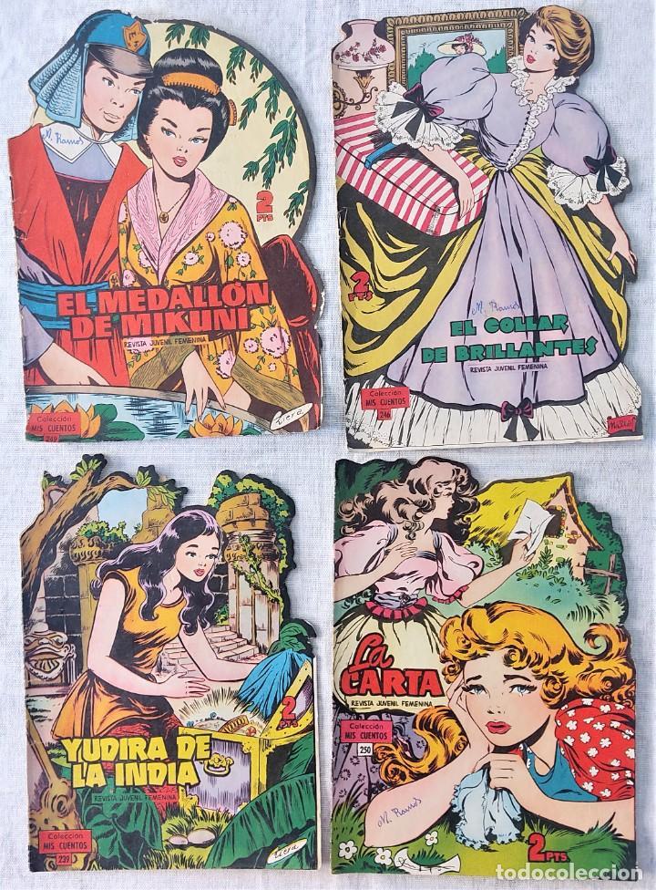 Tebeos: LOTE 32 TEBEOS COLECCIÓN MIS CUENTOS TROQUELADOS + ALMANAQUE PARA 1959 - EDICIONES TORAY - Foto 6 - 275534413