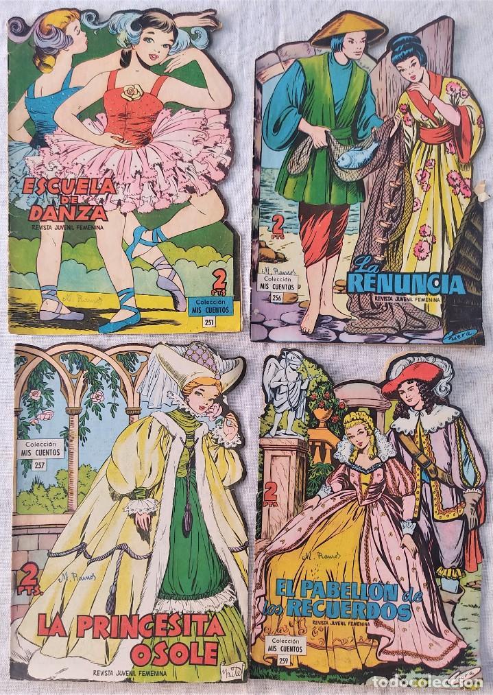Tebeos: LOTE 32 TEBEOS COLECCIÓN MIS CUENTOS TROQUELADOS + ALMANAQUE PARA 1959 - EDICIONES TORAY - Foto 7 - 275534413