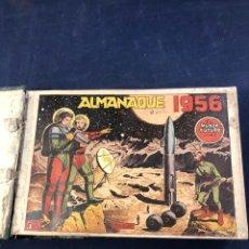 Tebeos: LOTE ALMANAQUE 1956 EL MUNDO FUTURO 1 AL 50 INCLUSIVE + ALMANAQUE 1957. Lote 275877778