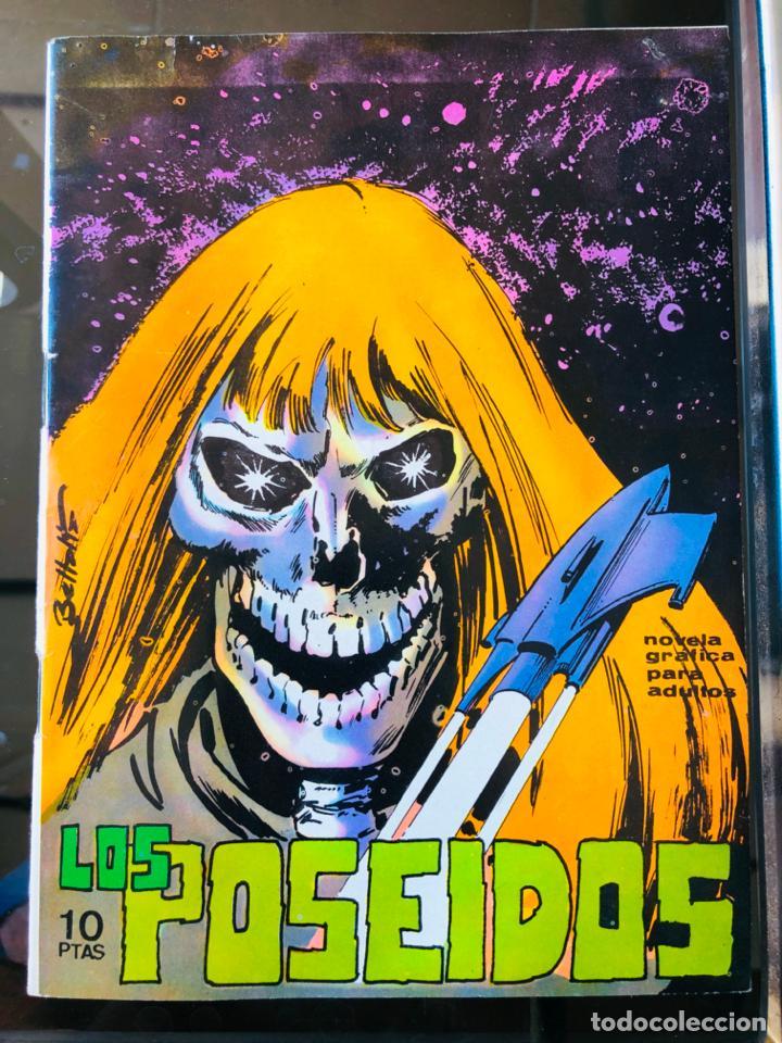 LOS POSEIDOS Nº11 - EDICIONES BOIXHER (Tebeos y Comics - Toray - Brigada Secreta)