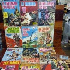 Giornalini: LOTE DE 13 TEBEOS DE HAZAÑAS BELICAS. EDICIONES TORAY. AÑOS 60. EN BUEN ESTADO. Lote 276289918
