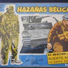 Tebeos: HAZAÑAS BELICAS EXTRA Nº 20 / C-3. Lote 276492453