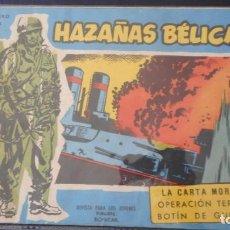 Tebeos: HAZAÑAS BELICAS EXTRA Nº 158 / C-3. Lote 276493688