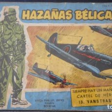 Tebeos: HAZAÑAS BELICAS EXTRA Nº 157 / C-3. Lote 276493913