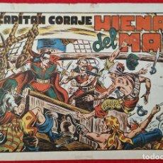 Tebeos: ALBUM Nº 2 EL CAPITAN CORAJE HIENAS DEL MAR CON 4 EJEMPLARES TORAY GRAN FORMATO ANTIGUO ORIGINAL. Lote 276539588