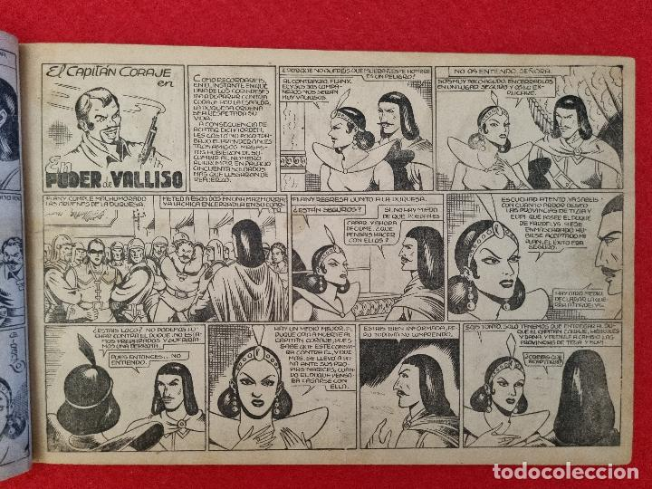 Tebeos: ALBUM Nº 3 EL CAPITAN CORAJE PERFIDIA CON 4 EJEMPLARES TORAY GRAN FORMATO ANTIGUO ORIGINAL - Foto 3 - 276539868