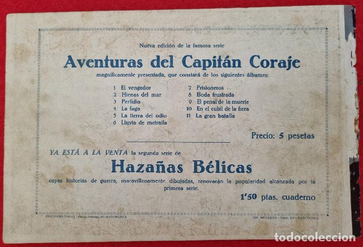 Tebeos: ALBUM Nº 3 EL CAPITAN CORAJE PERFIDIA CON 4 EJEMPLARES TORAY GRAN FORMATO ANTIGUO ORIGINAL - Foto 6 - 276539868