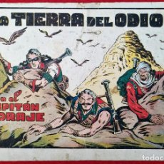 Tebeos: ALBUM Nº 5 EL CAPITAN CORAJE LA TIERRA DEL ODIO CON 4 EJEMPLARES TORAY GRAN FORMATO ANTIGUO ORIGINAL. Lote 276540248