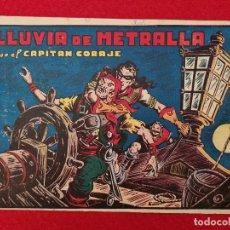 Tebeos: ALBUM Nº 6 EL CAPITAN CORAJE LLUVIA DE METRALLA CON 3 EJEMPLARES TORAY GRAN FORMATO ANTIGUO ORIGINAL. Lote 276540998
