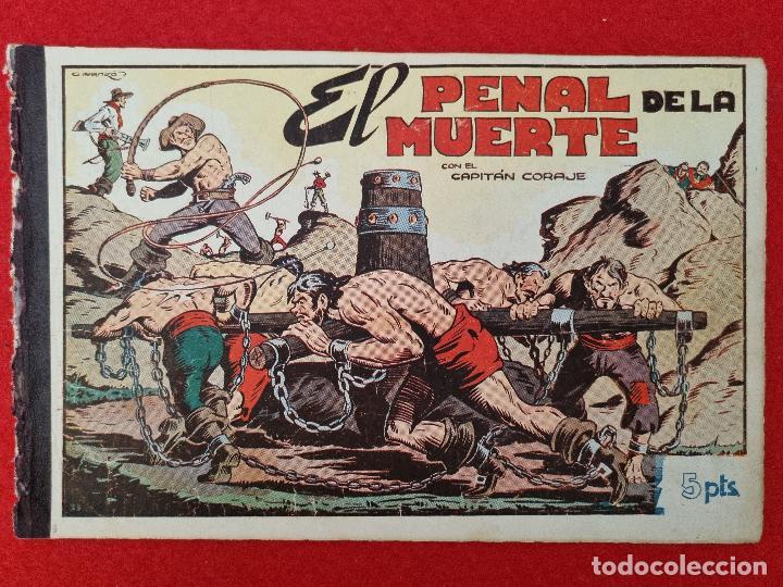 ALBUM Nº 9 EL CAPITAN CORAJE EL PENAL DE LA MUETE 4 EJEMPLARES TORAY GRAN FORMATO ANTIGUO ORIGINAL (Tebeos y Comics - Toray - Otros)