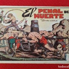 Tebeos: ALBUM Nº 9 EL CAPITAN CORAJE EL PENAL DE LA MUETE 4 EJEMPLARES TORAY GRAN FORMATO ANTIGUO ORIGINAL. Lote 276541608