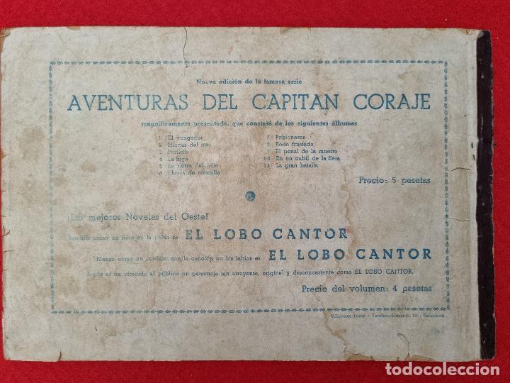 Tebeos: ALBUM Nº 11 EL CAPITAN CORAJE LA GRAN BATALLA 3 EJEMPLARES TORAY GRAN FORMATO ANTIGUO ORIGINAL - Foto 5 - 276542533