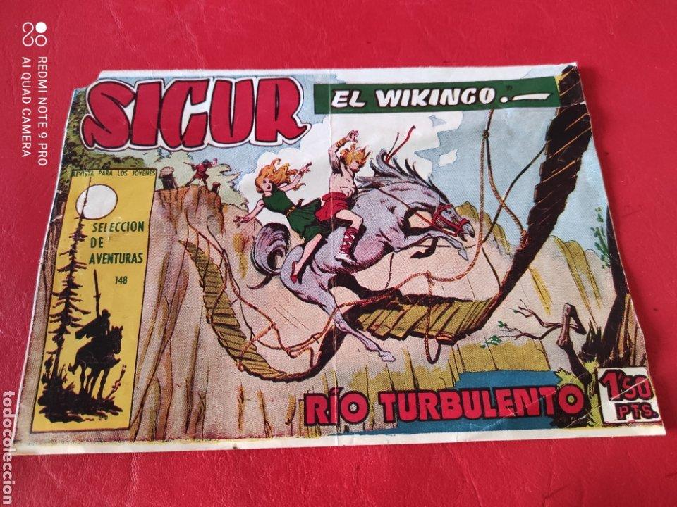SICUR EL VIKINGO N⁰148, RIO TURBULENTO EDICIONES TORAY (Tebeos y Comics - Toray - Otros)