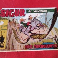 Tebeos: SICUR EL VIKINGO N⁰148, RIO TURBULENTO EDICIONES TORAY. Lote 276945468