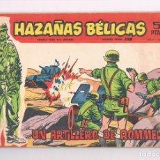 Tebeos: COMIC HAZAÑAS BELICAS NUMERO EXTRA 158 1964 UN ARTILLERO DE ROMMEL 1964. Lote 276947083