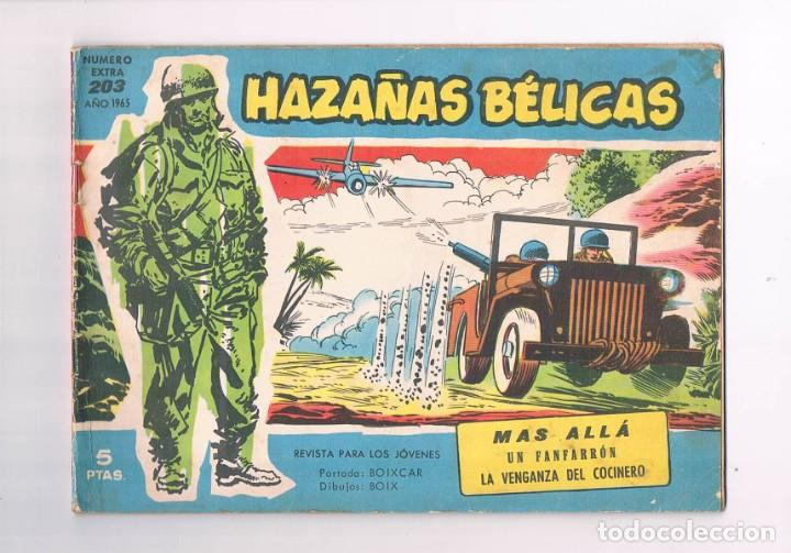 COMIC HAZAÑAS BELICAS NUMERO EXTRA 203 1965 MAS ALLA (Tebeos y Comics - Toray - Hazañas Bélicas)