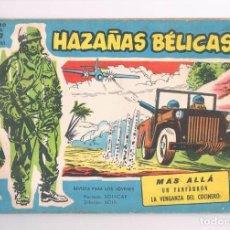 Tebeos: COMIC HAZAÑAS BELICAS NUMERO EXTRA 203 1965 MAS ALLA. Lote 276947613