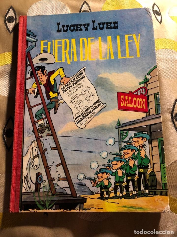 LUCKY LUKE FUERA DE LA LEY - TORAY - 1963 - 1RA EDICIÓN (Tebeos y Comics - Toray - Otros)