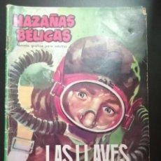 Tebeos: HAZAÑAS BELICAS. LAS LLAVES DE MATARILE. Lote 276983508