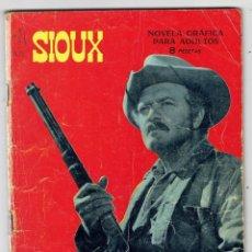 Tebeos: SIOUX Nº 72 - AL MORIR EL SOL - TORAY 1966. Lote 276991918