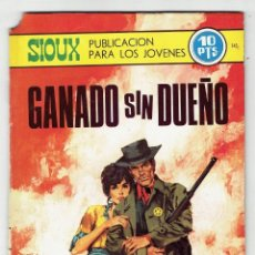 Tebeos: SIOUX Nº 145 - GANANDO SIN DUEÑO - TORAY 1969. Lote 276992158
