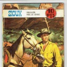 Tebeos: SIOUX Nº 122 - UN HOMBRE CABALGA SOLO - TORAY 1968. Lote 276992288